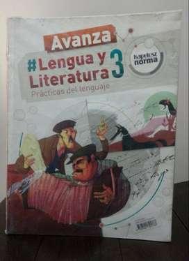 *Lengua y Literatura 3 Prácticas del lenguaje* Editorial Kapelusz Norma - Serie Avanza