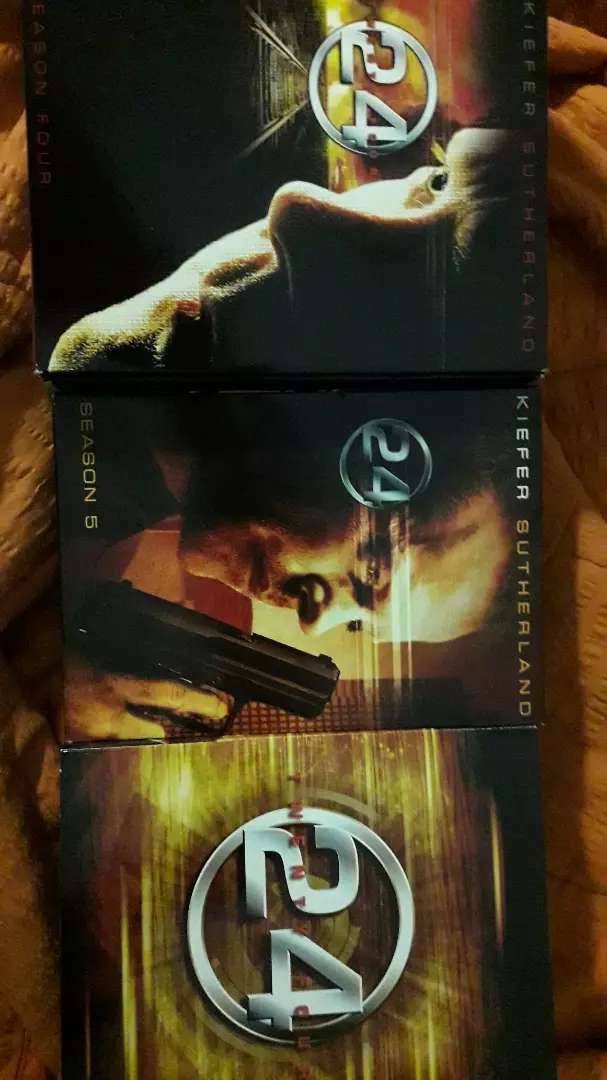 DVD 24 TWENTY SUTHERLAND TRES SESIONES 4,5 Y 6 TOTAL 21 DISCOS. IMPECABLE 0