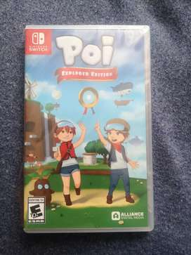 Juego nintendo switch poi explorer edition