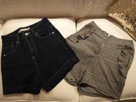 Shorts, polleras, jeans y calzas