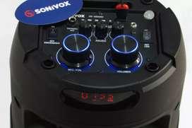 Torre de sonido Sonivox muy buena calidad de sonido y servicios.