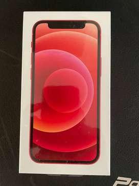 Iphone 12 Mini 128, rojo sellado.