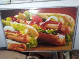 Vendo afiche decorativo para local de hot dog