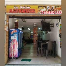 Venta de prima de restaurante en Itagui-centro de la moda