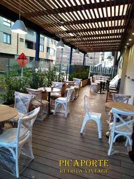Muebles Para Restaurante ambiente Exterior e Interior