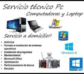 Servicio técnico y instalación computdor