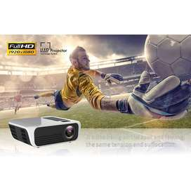 Proyector Video Beam 4500 lumenes LED FullHD 1080p Nativo Portable Ultra Liviano - 0444