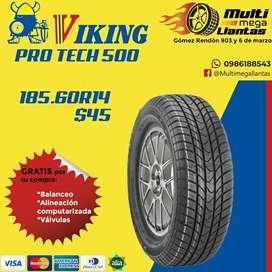 Llantas 185.60r14 Viking Protech 500