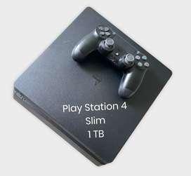 Vendo Play Station 4 Slim 1 TB