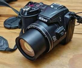 Cámara Nikon Coolpix L120 + accesorios