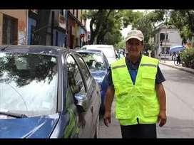 Doy servicio de cuidar carro para ciudadela,calles o eventos