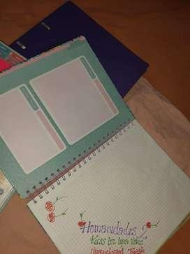 cuadernos mujer