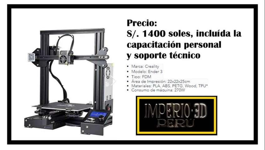 Venta de IMPRESORA 3D + Capacitacion y Soporte 0