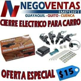 CIERRE ELECTRICO PARA CARROS