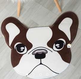 Hermosos tapetes antideslizante Multiusos Diseño perro