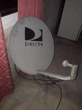 antena de directv con soporte