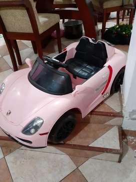 Auto a bateria Porsche coupe/ precio a tratar