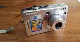 Camara Digital Sony W50 6 Mp - Excelente Estado/ Completa!