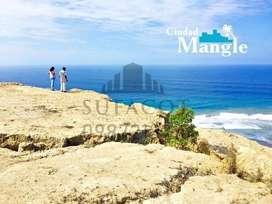 Urbanización Ciudad Mangle,Lotes con todos los servicios básicos mas piscinas, áreas verdes, áreas bbq, Montecristi, SD1