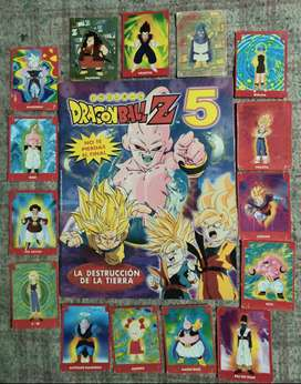 Álbum de figuritas Dragon Ball Z 5