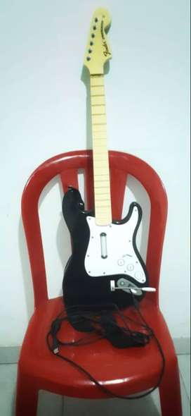Guitarra Harmonix rock band estilo fender stratocaster para xbox 360