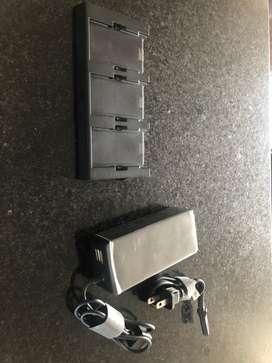Dji spark cargador multiple completo y nuevo