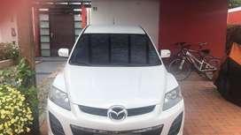 Mazda CX7 blanca