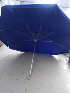Parasol en lona grande