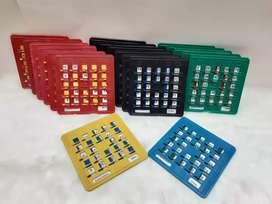 TABLAS DE BINGO x 30 plasticas