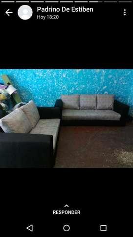 Muebles de Sala 3,2,1
