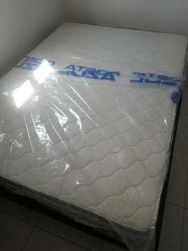 Colchón ortopédico + base cama