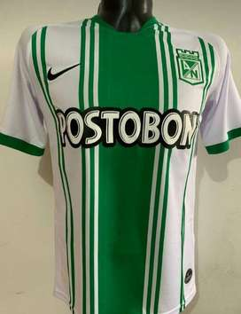 Nueva Camiseta Atlético Nacional Hombre Oficial Titular 2020