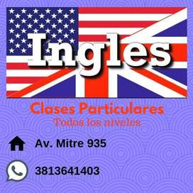 INGLÉS- CLASES PARTICULARES