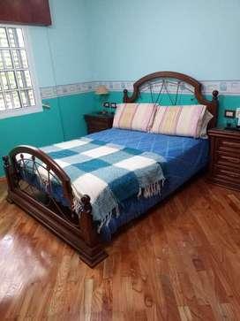 Jgo dormitorio matrimonial ROBLE