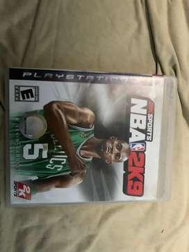 NBA 2009 juego de ps3 unico excelente estado