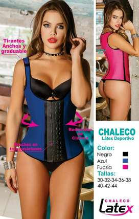 CHALECO REDUCTORA LATEX