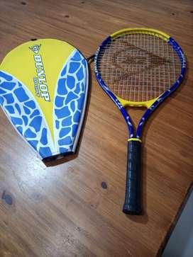 Raqueta tennis poco uso. Marca Dunlop Sport Slam 25 con funda