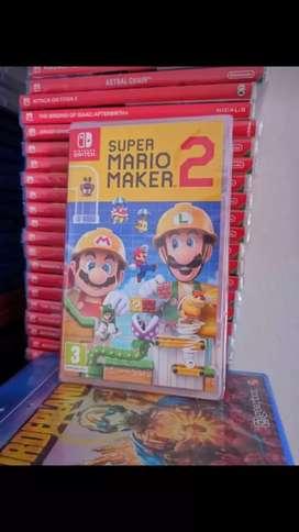 Mario maker 2 nintendo switch nuevos