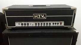 Equipo de guitarra: cabezal Nativo GTS 100 RH + caja Laney LV412S