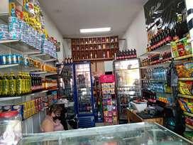 Se vende Negocio bien acreditado exelente ubicación por motivo de viaje, local alquilado uncluye vivienda.