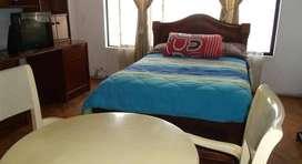 alquiler de dormitorios amoblados al norte de quito