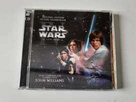 STAR WARS A NEW HOPE Banda sonora 2 CD original 2004. Otro CD de regalo va incluido.