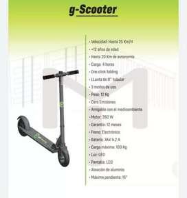 Scooter electrico marca Moving nuevo en 300 dólares