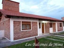 Cabañas/ Casa Los Balcones de Mina