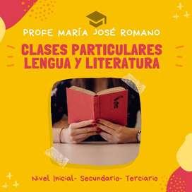 Clases De Lengua Y Literatura - Todos Los Niveles