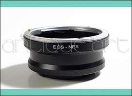 A64 Adaptador Lente Canon Eos A Cuerpo Sony Alpha Nex E