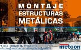 ESTRUCTURAS METALICAS NIVEL MINERO E INDUSTRIAL