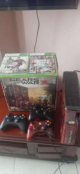 Xbox 360 edición limitada Gear of war3