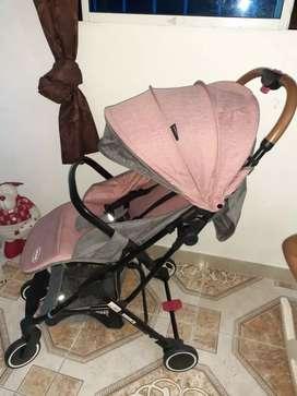 Choche paseador tipo maleta flex ultra liviano bebesit
