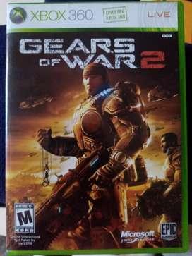 Juego para xbox 360 (gears of war 2).